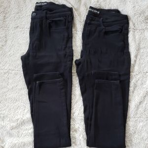 Bundle of black Express Jeans